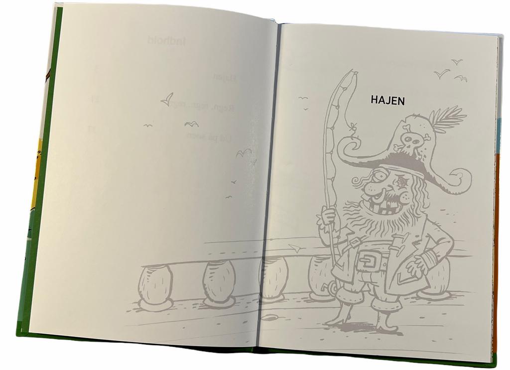 Billede af: Opslag i: Simon og Mirza - På nye eventyr af Per Østergaard